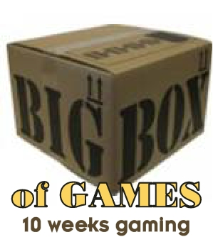 Big box of games - 10-12 games for 10 weeks