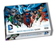 DC Comics Deck Building Game - for rent